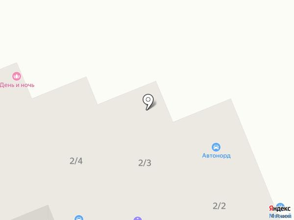 День и Ночь на карте Батайска