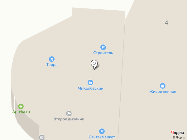 Строитель на карте Батайска