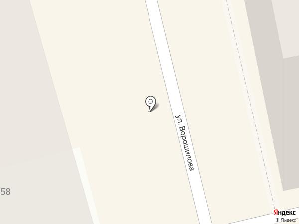 Аннушка на карте Батайска