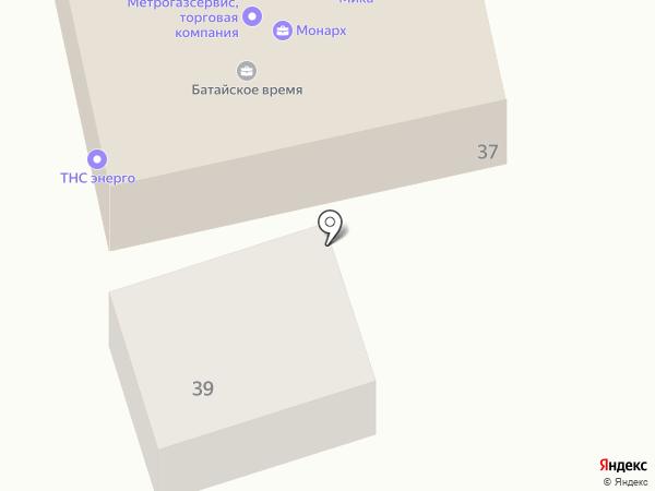 Мика на карте Батайска