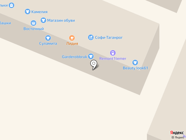 Постельный вопрос на карте Ростова-на-Дону