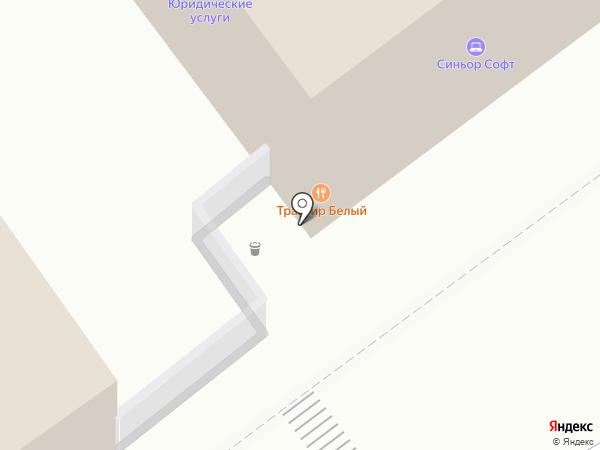 Филин на карте Рязани