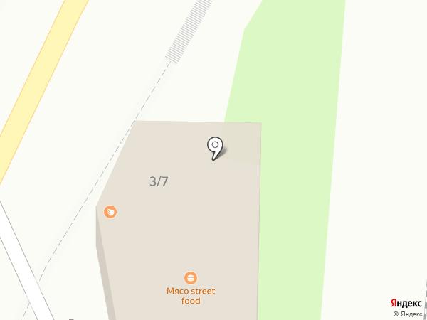 Улитка на карте Сочи