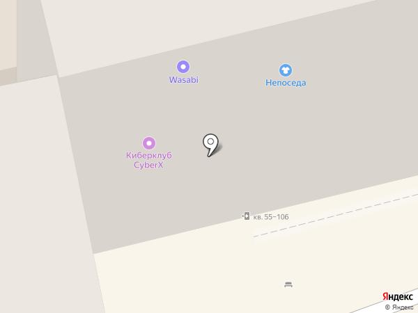 Фаббрис на карте Батайска
