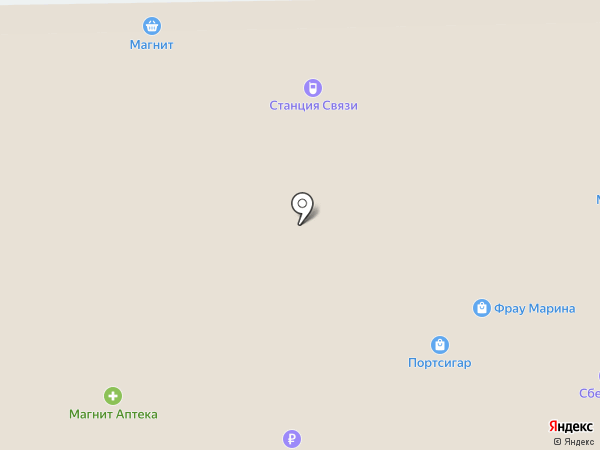 Магнит Косметик на карте Батайска