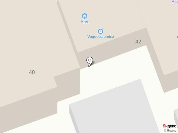 АристокраТ на карте Ростова-на-Дону