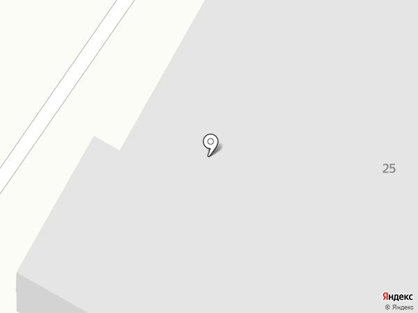 Старый гараж на карте Сочи