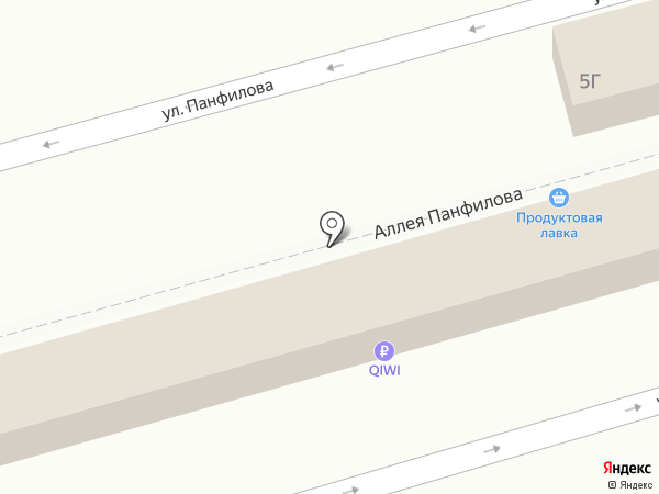Продуктовая лавка на карте Батайска