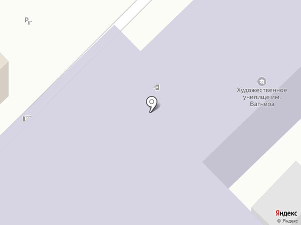 Московский областной гуманитарный институт на карте Рязани