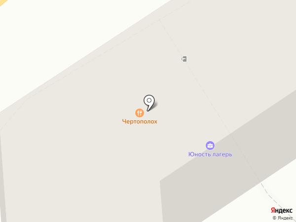Чертополох на карте Рязани