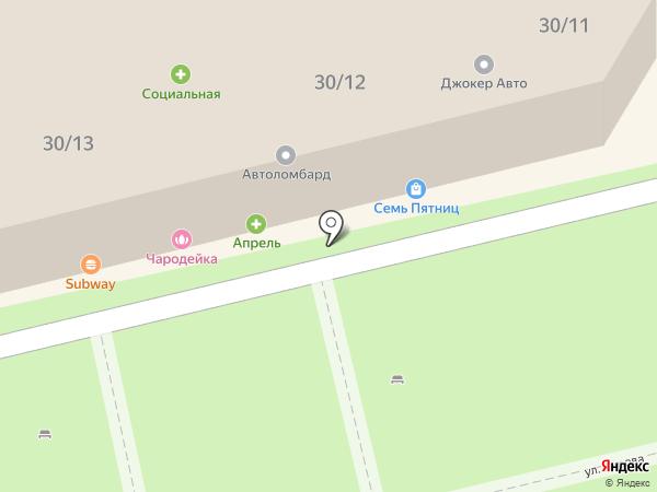 Семейный квартал на карте Батайска