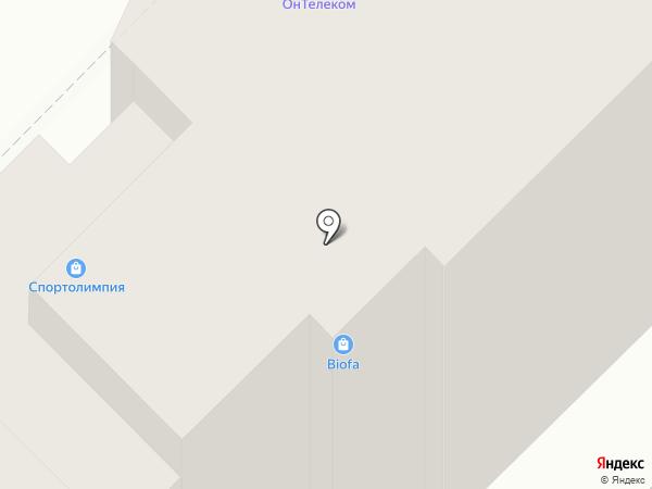 Гауранга на карте Рязани