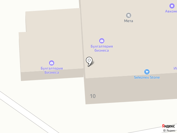 Фартон-Юг на карте Ростова-на-Дону