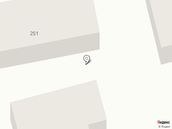 Шиномонтажная мастерская на ул. Мира на карте Батайска