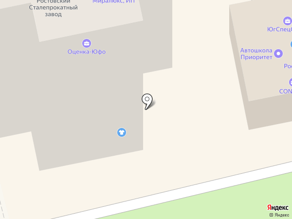 Мемориальная компания на карте Батайска