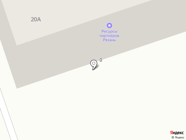 Белые камни на карте Рязани