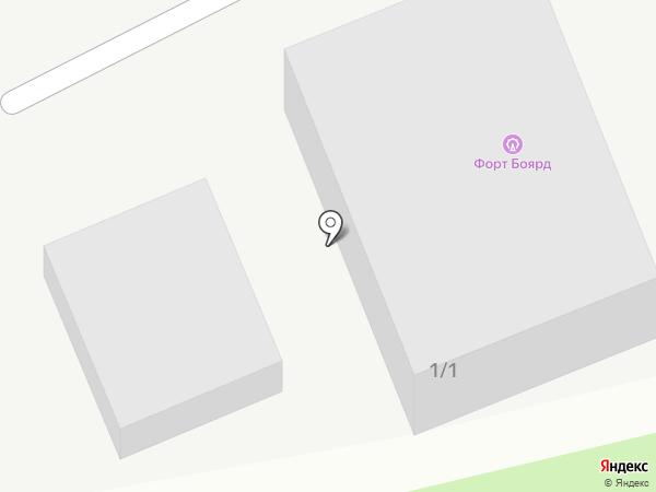 Цветочный №1 на карте Сочи