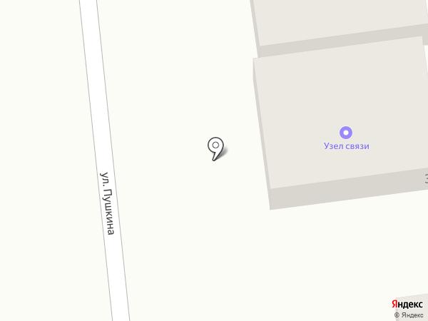 Узел связи на карте Батайска