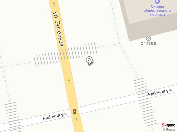 Центр занятости населения г. Батайска на карте Батайска