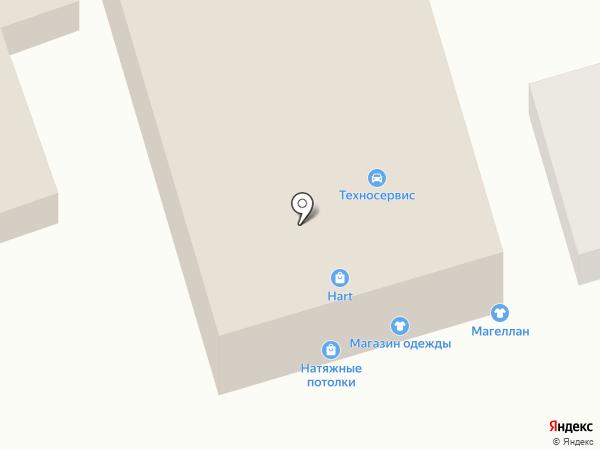 Магеллан на карте Ростова-на-Дону