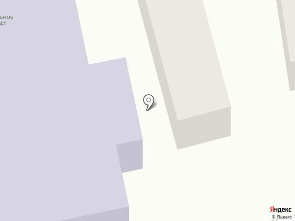 Профессиональное училище №41 на карте Батайска