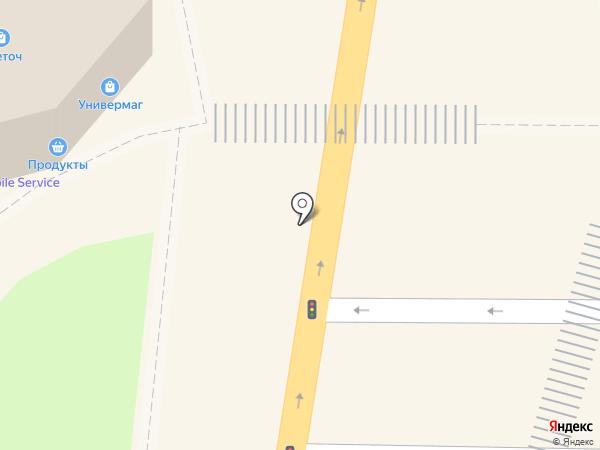 Апрель-Интер на карте Батайска