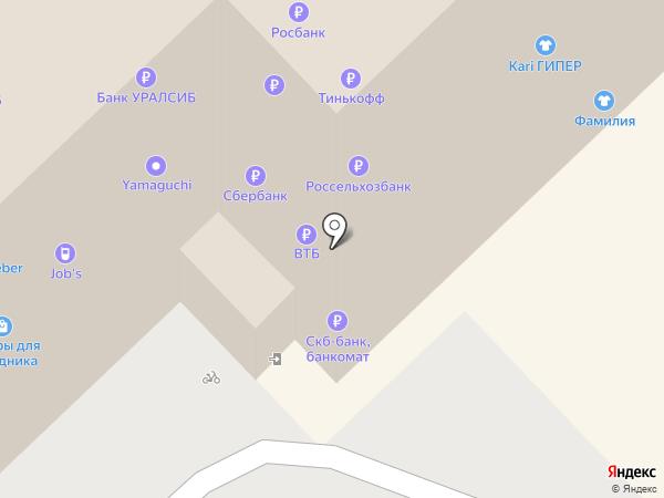 Job`s на карте Рязани