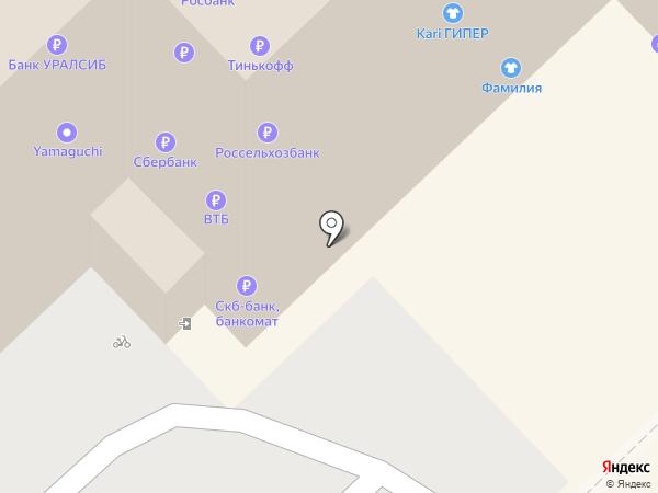 Банкомат, СКБ-банк, ПАО на карте Рязани