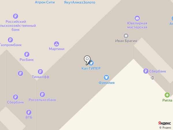 Магазин подарков на карте Рязани