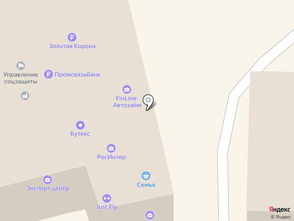 РостИнтер на карте Батайска