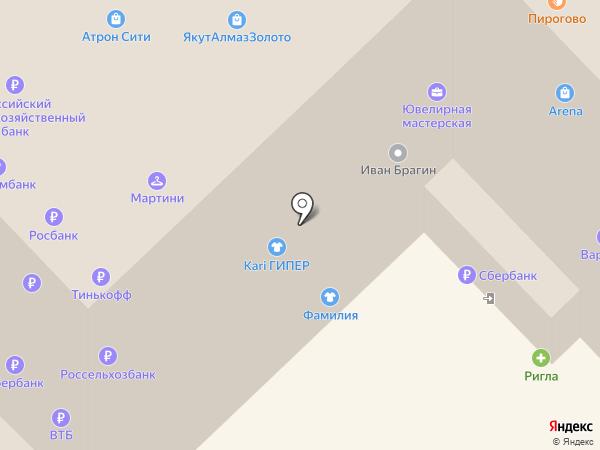 Juice на карте Рязани