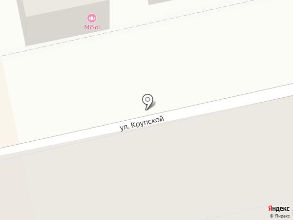 Город на карте Батайска