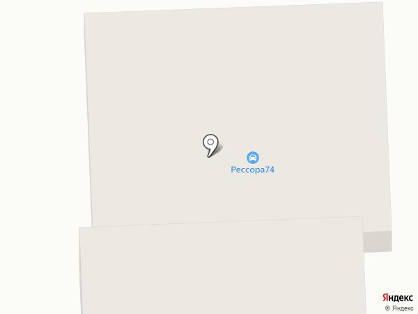 Форте на карте Батайска