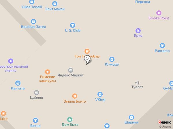Donna Piu на карте Рязани