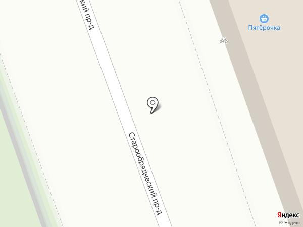 Пятёрочка на карте Рязани