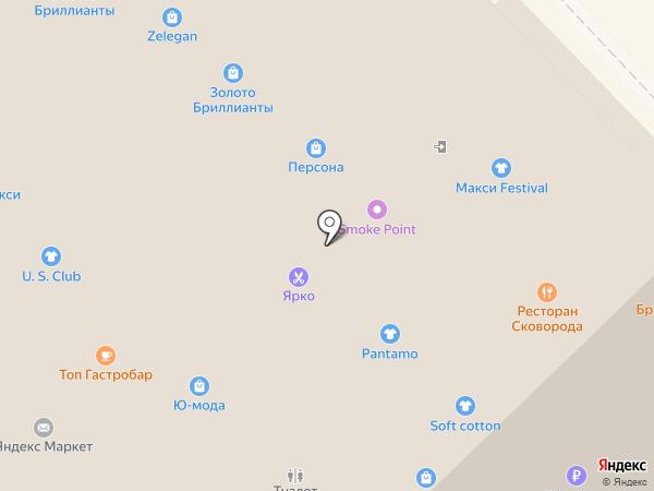 Сковорода на карте Рязани
