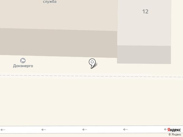 Донэнерго на карте Батайска