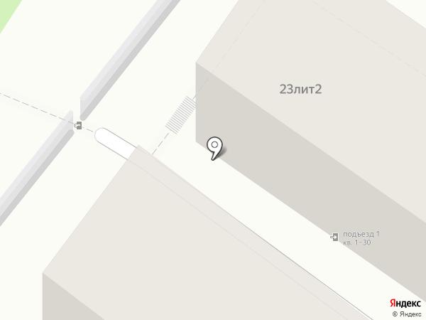 Уютный квартал на карте Сочи