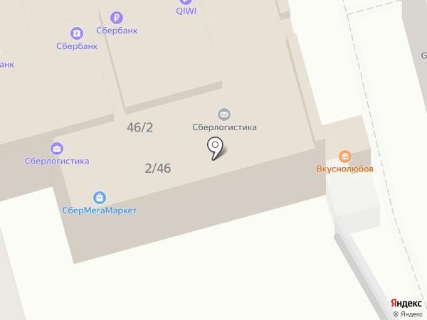 Лотос на карте Ростова-на-Дону