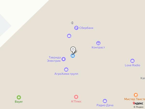 Все для такси на карте Рязани