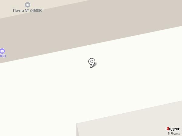 Почтовое отделение №80 на карте Батайска