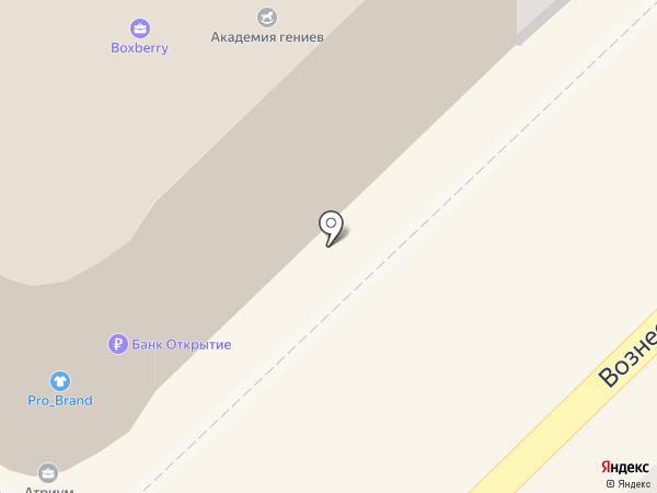 Суши Стрит на карте Рязани