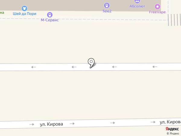 Евротекс на карте Батайска