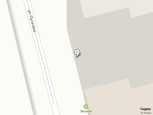 Квартал на карте Рязани
