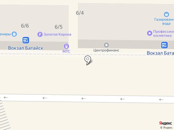В фокусе на карте Батайска