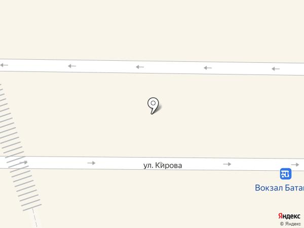 Мегафон на карте Батайска