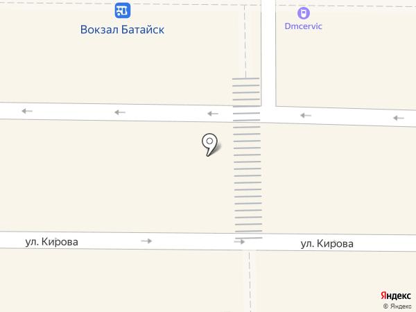 Быстроденьги на карте Батайска