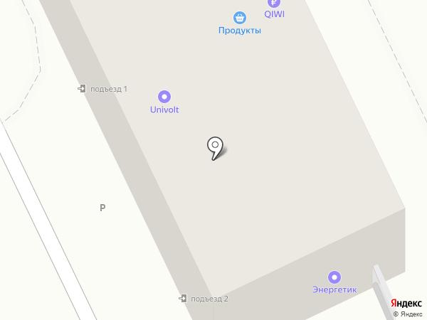 Мгновение на карте Ростова-на-Дону