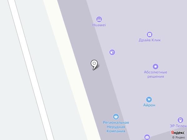 Донсталь на карте Ростова-на-Дону
