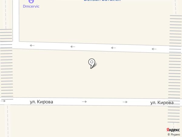 Панчо на карте Батайска